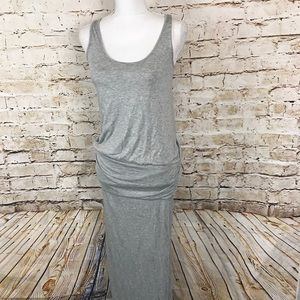 Soft Joie Maxi Dress Gray Full Length Size Medium